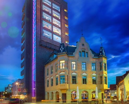 Altbausanierung Umbau Postturm Schorndorf