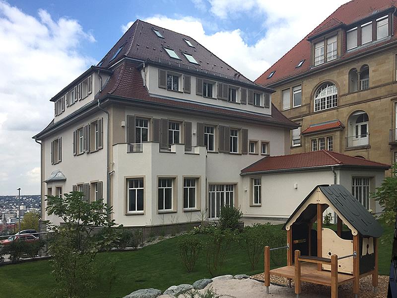 Altbausanierung Umbau Stafflenbergstrasse Stuttgart