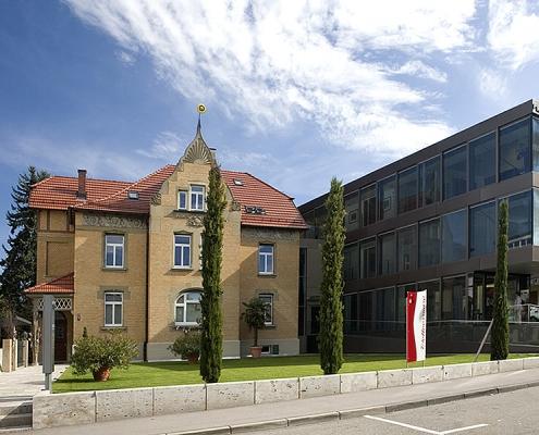 Altbausanierung Umbau Villa am Schloss Schorndorf