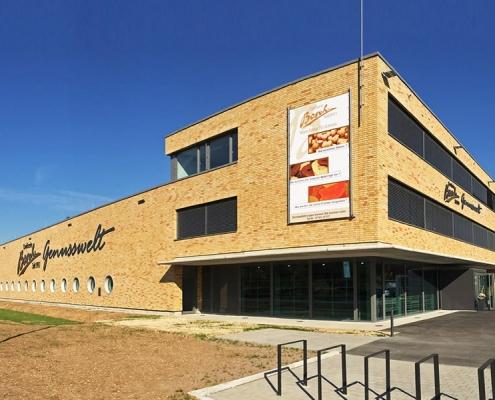Industriebau Confiserie Bosch Uhingen