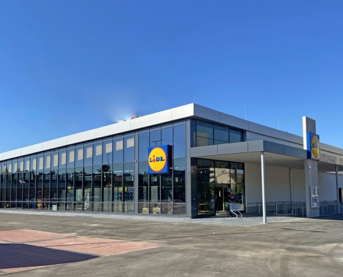 Industriebau Lidl Heubach
