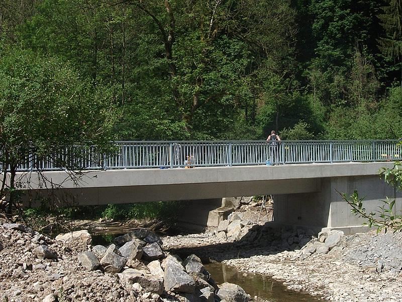 Ingenieurbau Brücke Oberscheffach