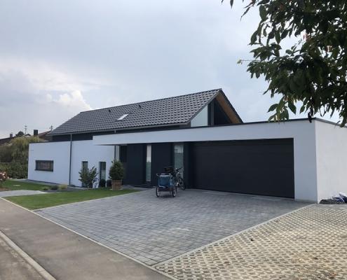 Privater Wohnungsbau EFH in Bartholomä